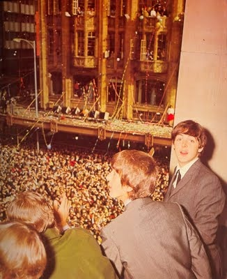 The View From Above...........You're 22, and the whole world's in love with you. Melbourne, Australia 1964