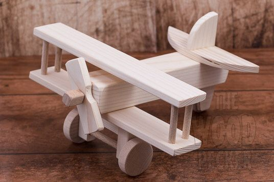 Wooden Airplane toy, wooden toy, Kids toys, wooden toy, airplane toy, Children Boys, Airplane with weels, Decorative toy, Birthday present by TheWoodPeckerFactory on Etsy https://www.etsy.com/listing/257752126/wooden-airplane-toy-wooden-toy-kids-toys