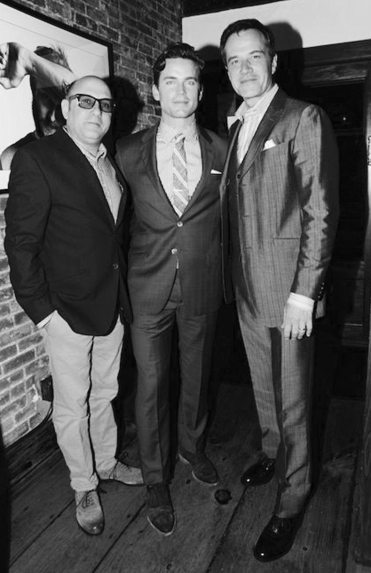 Willie Garson, Matt Bomer, Tim DeKay