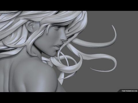 Ethereal Girl sculpt - Zbrush