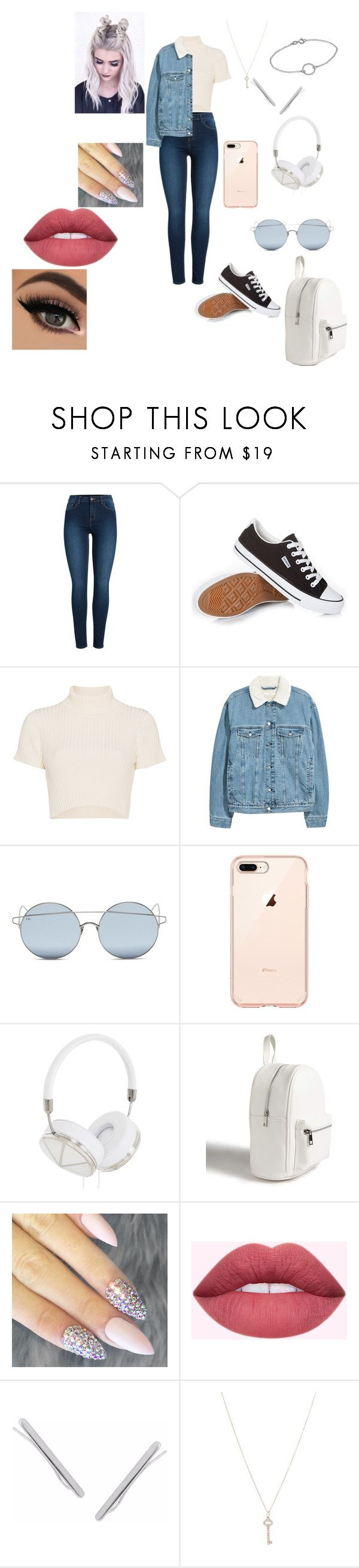 """""""for some reason i think this is something a colage student would wear"""" by shannon-tilley on Polyvore featuring Pieces, Staud, For Art's Sake, Frends, Forever 21, Humble Chic and Tiffany & Co."""