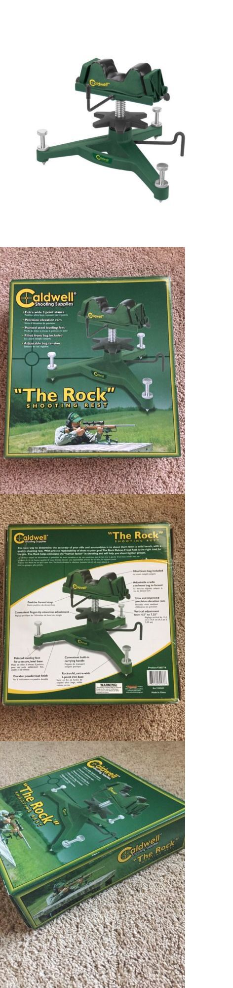 Benches and Rests 177887: Caldwell Shooting Rest, The Rock , 383774 BUY IT NOW ONLY: $80.0