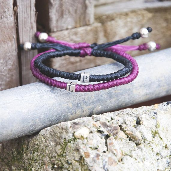 Hey, I found this really awesome Etsy listing at https://www.etsy.com/uk/listing/591041231/couple-initials-bracelet-gift-for-couple