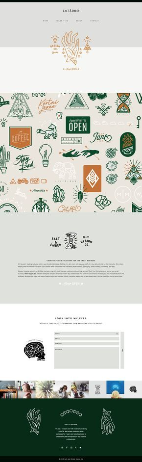Salt and Ember's fun, design-focused website is running on Station Seven's WordPress theme Coastal. They created an interactive web design with creative graphics and user friendly design.