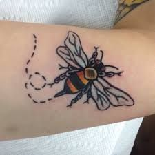 american traditional bee tattoo - Google Search