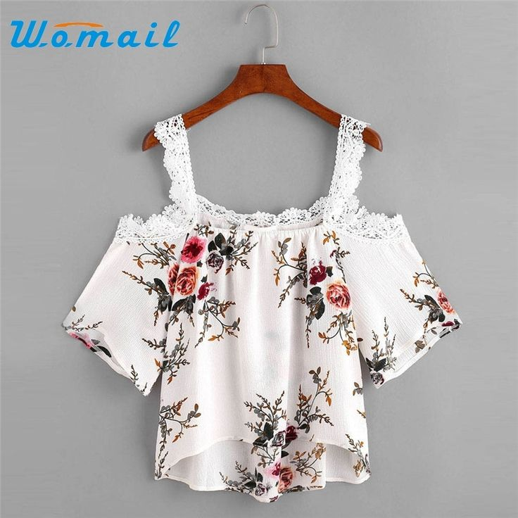 4.21$  Watch now - Womail Summer Floral Print Off Shoulder Tops Shirts For Women Short Sleeve Blouse Sexy Ladies Top Blusas Femininas 2017 #23   #SHOPPING