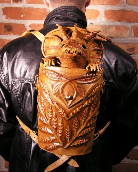 Dragon Backpack on EBAY now.