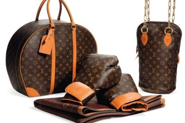 Louis Vuitton Punching Bag Boxing Gloves Matt And Case Est