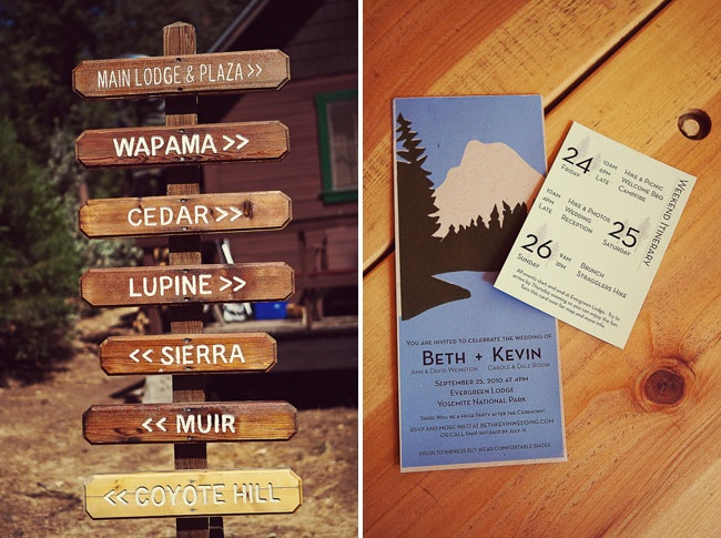 Yosemite Wedding Invitations: 1000+ Images About National Park Wedding On Pinterest