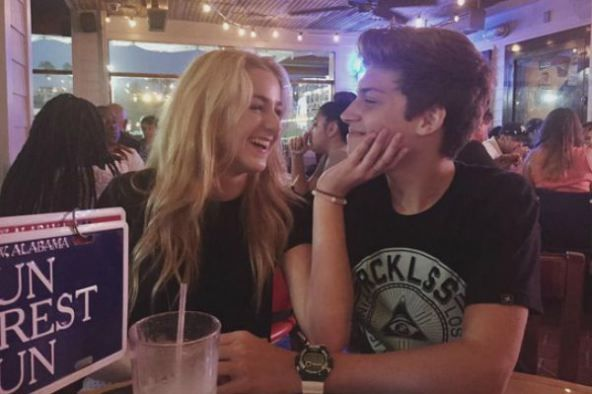 Chloe lukasiak and her boyfriend ricky garcia they are adorable together lol