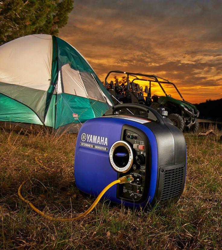 Yamaha 2000w Inverter Generator - a camping favourite
