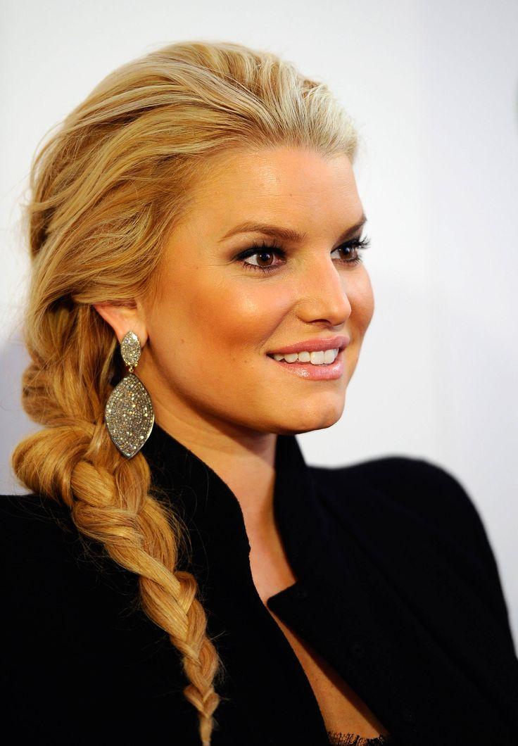 gorgeous no-part braid
