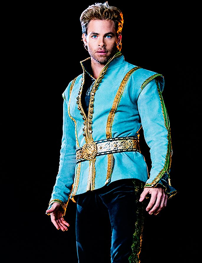Into the Woods - the prince - Chris Pine -  Costume designed by Colleen Atwood