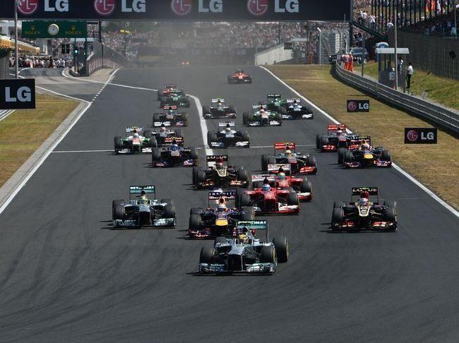 Formule 1 : Grille de départ du Grand-Prix de Hongrie