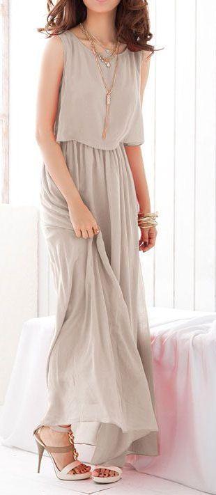Bohenmia Chiffon Maxi Dress ♥