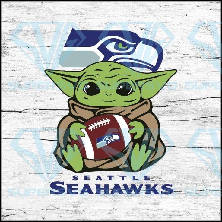 Baby Yoda Star Wars, Seattle Seahawks Svg, NFL Svg