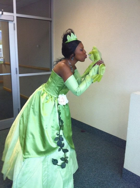 Princess Tiana Halloween Costume For Adults