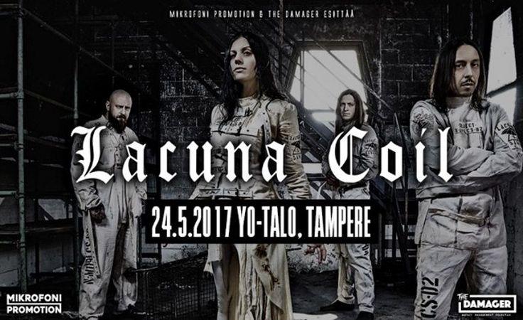 Lacuna Coil (ITA) - Yo-talo, Tampere - 24.5.2017 - Tiketti