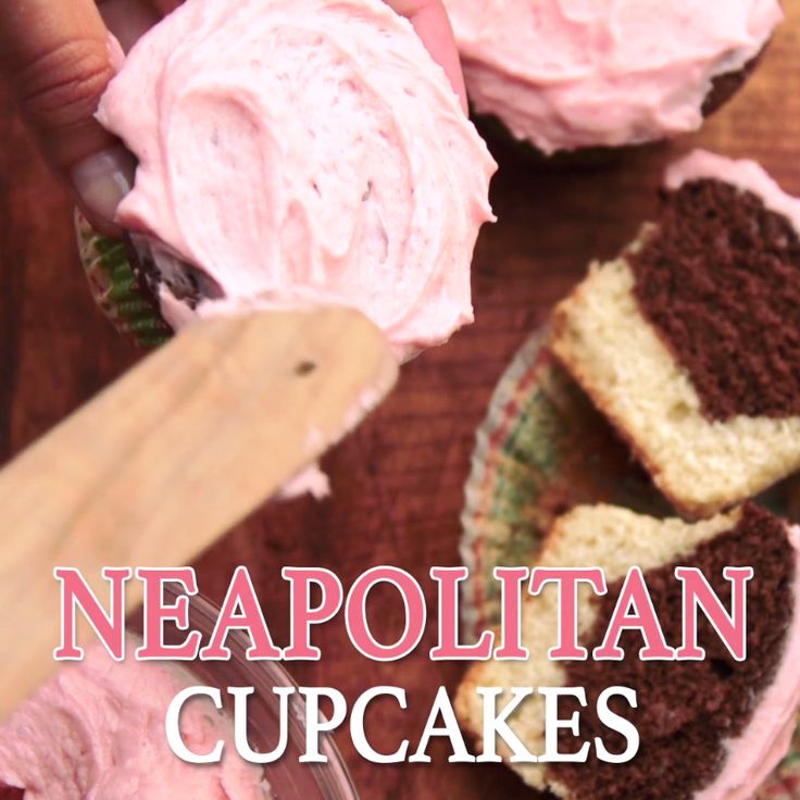 This classic childhood ice cream flavor turned cupcake is the ultimate nostalgic treat.