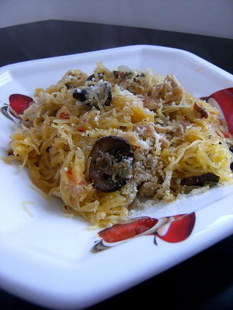 Roasted spaghetti squash | Food | Pinterest