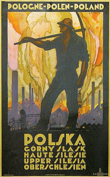 Polish poster design - Stefan Norblin - Polska http://www.smashingmagazine.com/2010/01/17/the-legacy-of-polish-poster-design/