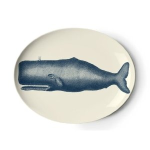 I'm thinking of buying this tray to add to my obscene obsession with Moby Dick and Herman Melville. Never can have enough whaling decor for your home.