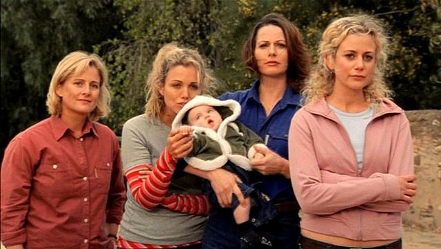 Meg, Tess, Charlotte, Clare, and Jodi