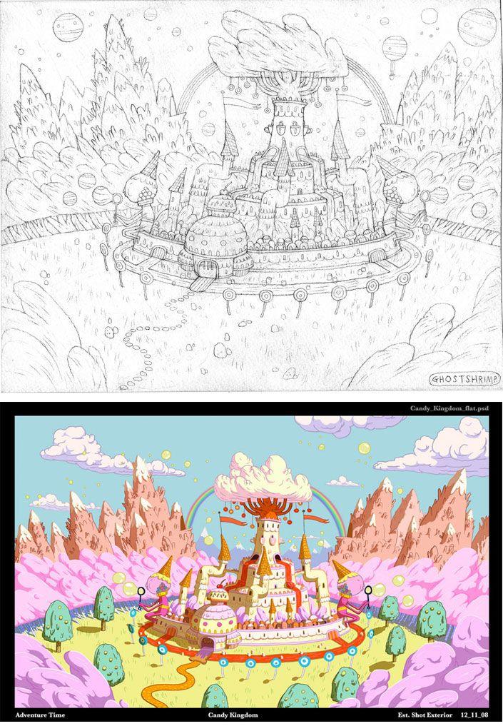 http://theconceptartblog.com/wp-content/uploads/2012/10/AdventureTime-Backgrounds-01.jpg