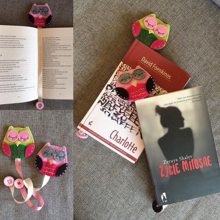 Sówki #book #bookmark #nasprzedaz #sprzedam #filc #handmade #kochamczytać #robotkireczne #instacraft #design #dladzieci #prezent #ozdoba #sowa #zakladka #zakladkadoksiazki #owl #niezchinzpasji