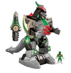 Imaginext Power Rangers Green Ranger and Dragonzord RC Tracker