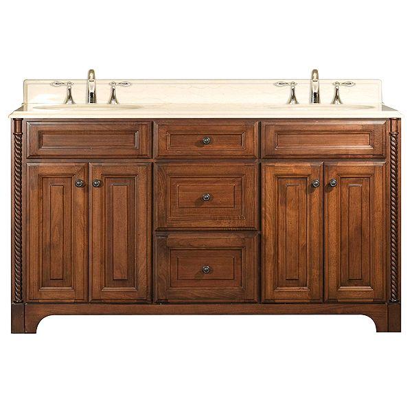 10 best Walnut Madeli Double Sink Bathroom Vanities images on