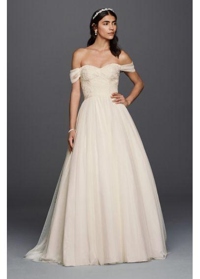 Tulle Beaded Lace Sweetheart Wedding Dress WG3785
