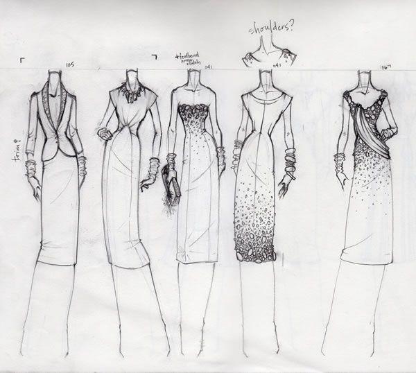 55 Inspiring Fashion Sketches & Illustrations   Abduzeedo   Graphic Design Inspiration and Photoshop Tutorials