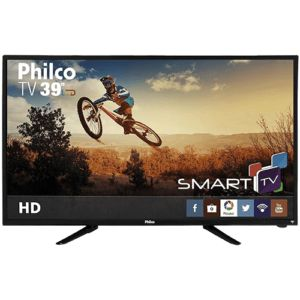 ❌Smart TV LED 39″ Philco PH39N86DSGW HD com Conversor Digital 3 HDMI 1 USB Wi-Fi Closed Caption e Sleep timer❌  🔥R$ 1.169,00 no boleto ou R$1.299,00 em até 6x s/juros!!