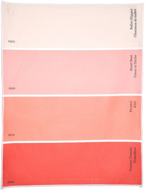 Shades of peach: I really like this color pallet to choose from for bridesmaid dresses