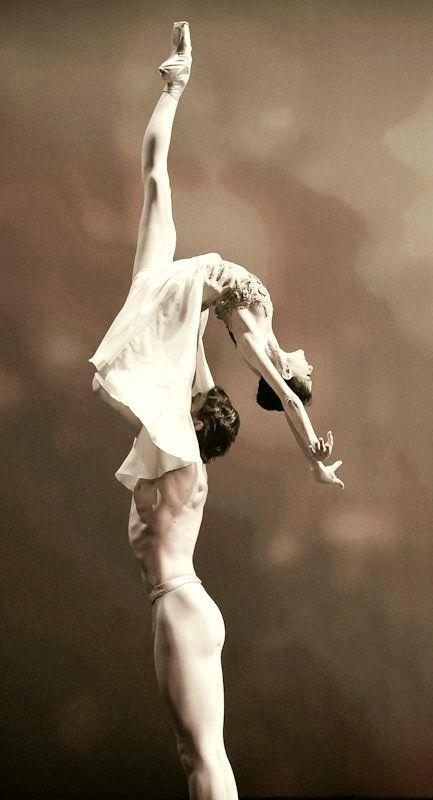 Lucia Lacarra and Marlon Dino - indescribable beauty. I think I could look at this all day...