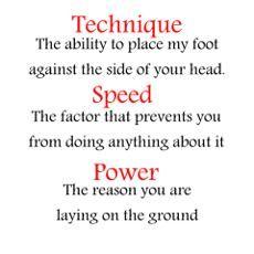 Taekwondo Technique Poster