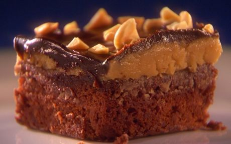 Peanut butter biscuit dough brownies in 30 mins by Guy Fieri | Brownies Professional recipe | Foodnetwork.co.uk