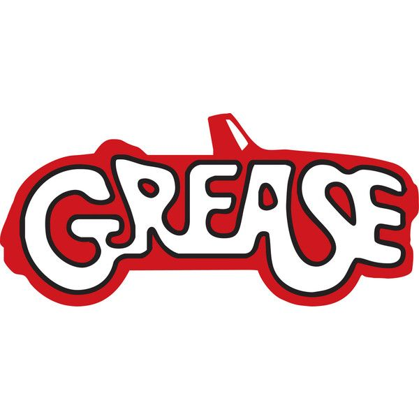 Grease ❤ liked on Polyvore featuring words, grease, fillers, random and text