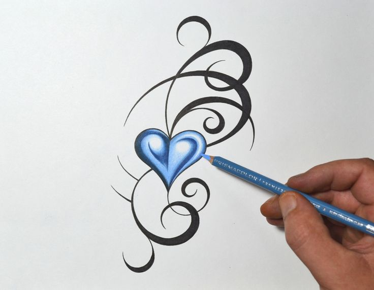 tribal heart tattoo designs - Yahoo Image Search Results