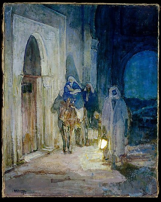 Flight Into Egypt  Henry Ossawa Tanner  (American, Pittsburgh, Pennsylvania 1859–1937 Paris)