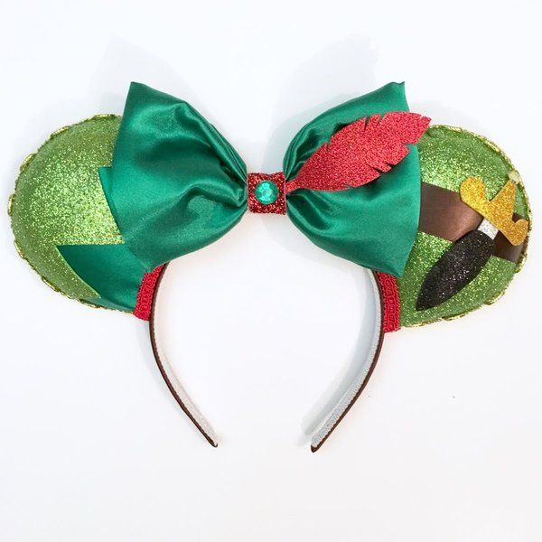 Peter Pan inspired Magic Mouse Ears
