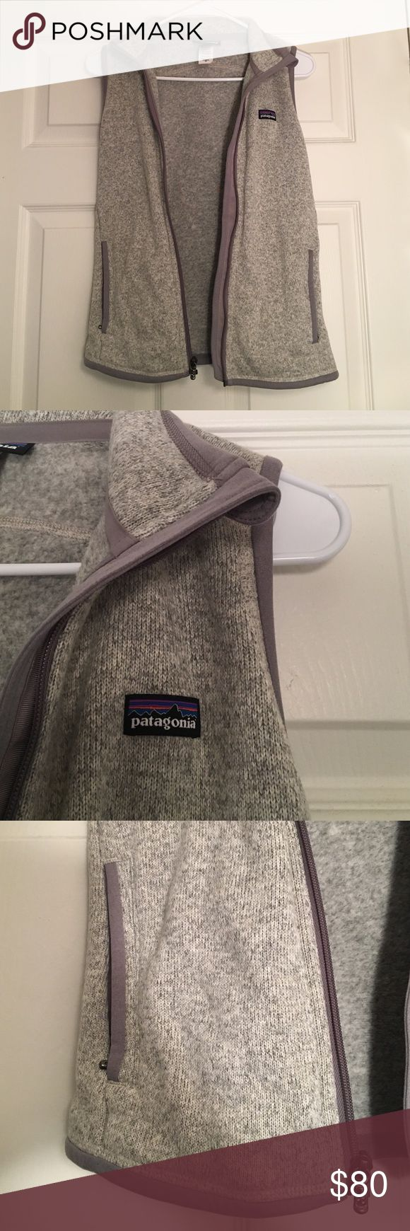 Patagonia Grey Zip-up Vest Paragonia grey zip-up vest with 2 zip up pockets and 2 inside pockets. Patagonia Jackets & Coats Vests