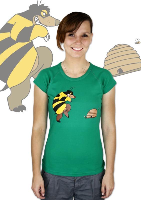 Mr. Bee Damen T-Shirt    http://www.bastard-shop.de/damen-t-shirts/mr-bee-damen-t-shirt-475/