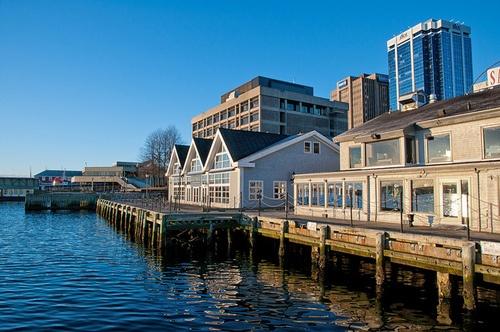 Halifax, NS Waterfront  by Dean Bouchard