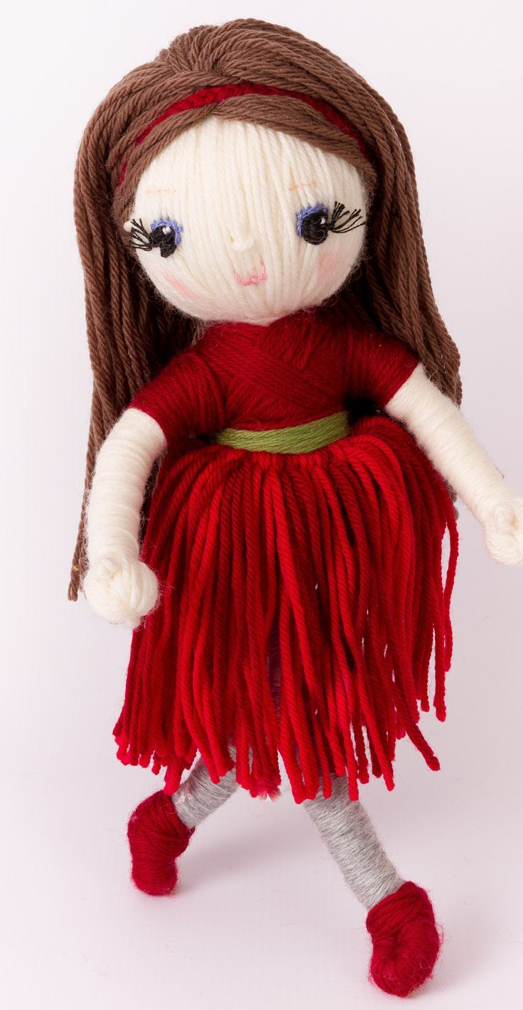 "Rose Red from ""Yarn Whirled: Fairy Tales, Fables, and Folklore""."