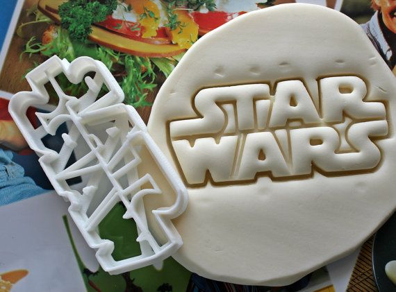 Star Wars Letters Cookie Cutter / Made From Biodegradable