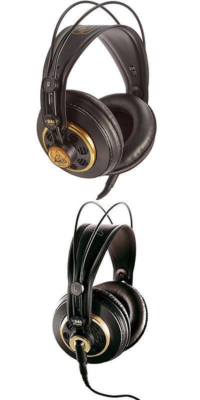 Headphones: Akg K 240 Studio Professional Semi-Open Stereo Headphones -> BUY IT NOW ONLY: $55.85 on eBay!