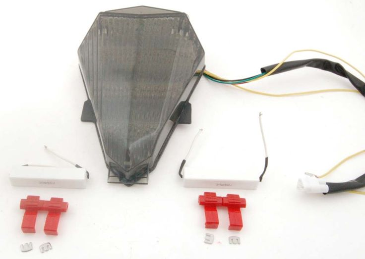 Mad Hornets - TailLight with integrated Turn Signals for Yamaha YZF R6  (2006-2007) Smoke, $45.99 (http://www.madhornets.com/taillight-with-integrated-turn-signals-for-yamaha-yzf-r6-2006-2007-smoke/)