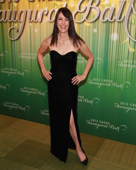 Stephanie Miller in 2013 Green Inaugural Ball